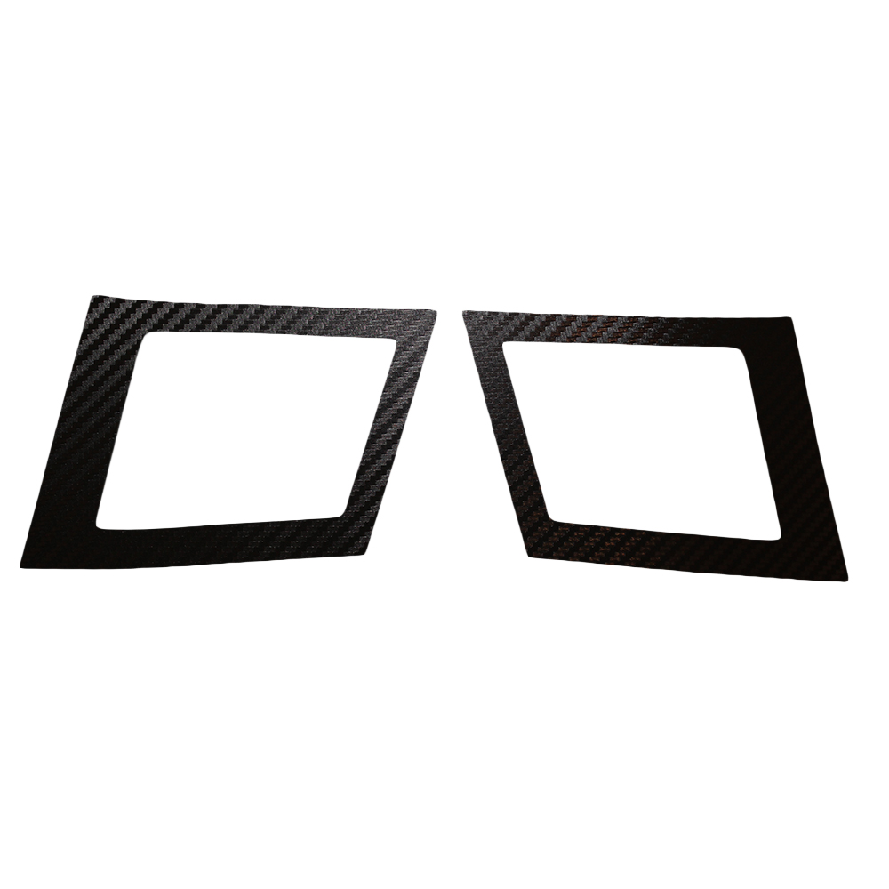 Car Air Conditioning Outlet Sticker For MITSUBISHI Lancer EX 2010 2011 2012 Carbon Fiber Car Stickers Car-Styling 2pcs Per Set 4