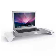 Aluminum Alloy Computer Monitor Stand Laptop Bed Table Notebook Reading Holder for Apple Mac Computer Display iPhone Accessories(China)