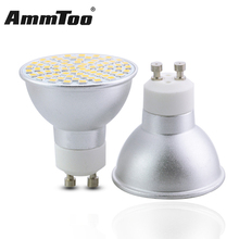 Ultra Bright 3W 5W 7W GU10 LED Bulbs Light 220V 230V Dimmable Led Spotlights GU 10 Base Bombillas Led Lamp LED Spot Light 4PCS(China)