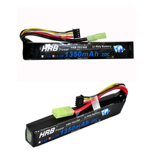 HRB Wholesale Price 11.1V 1350mah 20C Max 40C Toys & Hobbies For Helicopters RC Gun Li-polymer Battery