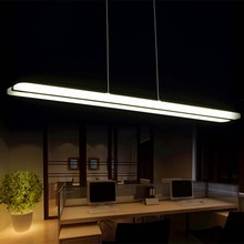 Newest Design Modern LED Pendant Lights for Dining Room White Acrylic LED Pendant Lamp Contemporary L100CM H150CM HM03