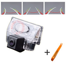 CCD car track camera reversing trajectory For Nissan Teana Car  back up  car parking camera waterproof fully NTSC PAL(optional)