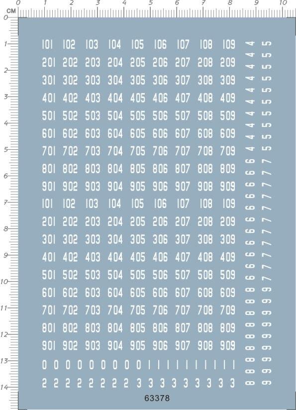Different Scale Black Volkswagen Logo Markings Model Kit Water Slide Decal