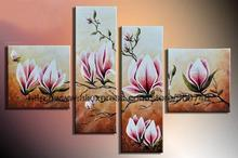 Flowers In Spring Landscape Abstract Music Wall Art Kitchen Decor Living Room Background High Quality Oil Paintings On