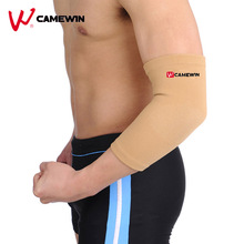 1 Pair CAMEWIN Brand Elbow Support Protector Prevent Arthritis Injury High Elastic Warm Pad Sports Outdoor Elbow Guard Brace(China)