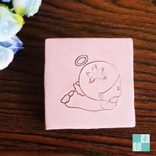 Free shipping Angel Baby Soap Chapter Natural Soap Handmade Soap Mini DIY Soap Stamp 4cm*4cm(China)