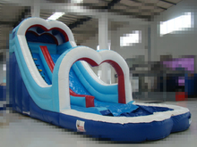 (China Guangzhou) manufacturers selling inflatable slides, Inflatable pool slide, COB-435