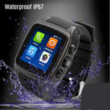 "X01 smart watch MTK 6572 Dual core 1,54 ""экран 512 МБ оперативной памяти 4 ГБ Rom сим-карта Android 4,4 Bluetooth 3g камера с wi-fi и GPS PK ZGPAX S8(China)"