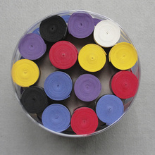 Wholesale 60 pcs/lot Anti-slip tennis racket overgrips new scrub hand gel tape glue overgrips(China)