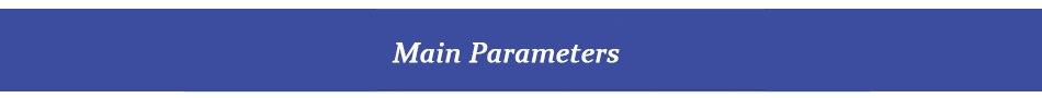 Main Parameters