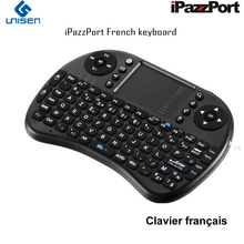 iPazzPort French Mini Wireless keyboard and Mouse Combo for AndroidTV Box, Raspberry Pi, Intel Compute Stick