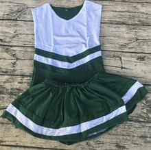 New customized design cheerleading uniforms china supplier cheerleading stores wholesale kids girls school cheerleader costume(China)