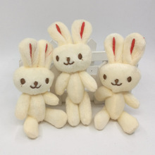Custom mini plush rabbit customized stuffed plush bunny toy