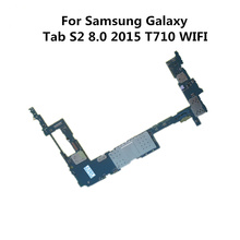 Full Working Used Original Board For Samsung Galaxy Tab S2 8.0 2015 T710 WIFI Unlock Motherboard Logic Mother Board(China)