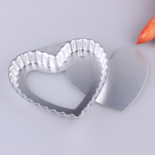 Aluminum Alloy Activity Bottom Cake Pie Pan Pizza Pie Mold Heart Shaped Daisy Mould Oven Pan Non-stick 6inch M2120(China)