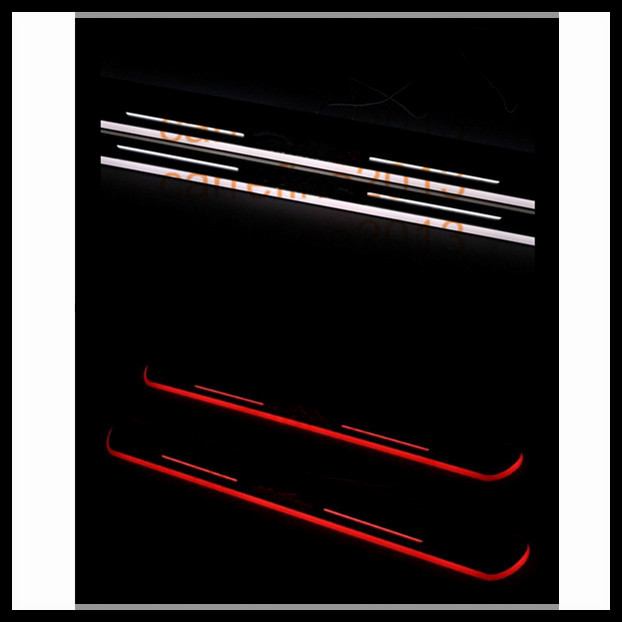 new arrived 2 pcs led door scuff  for porsche cayenne macan led moving door scuff free shipping<br><br>Aliexpress