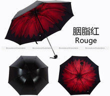 Folding Windproof Anti UV/Rain Daisy Star Sky Princess Women Umbrella Hot 10016936