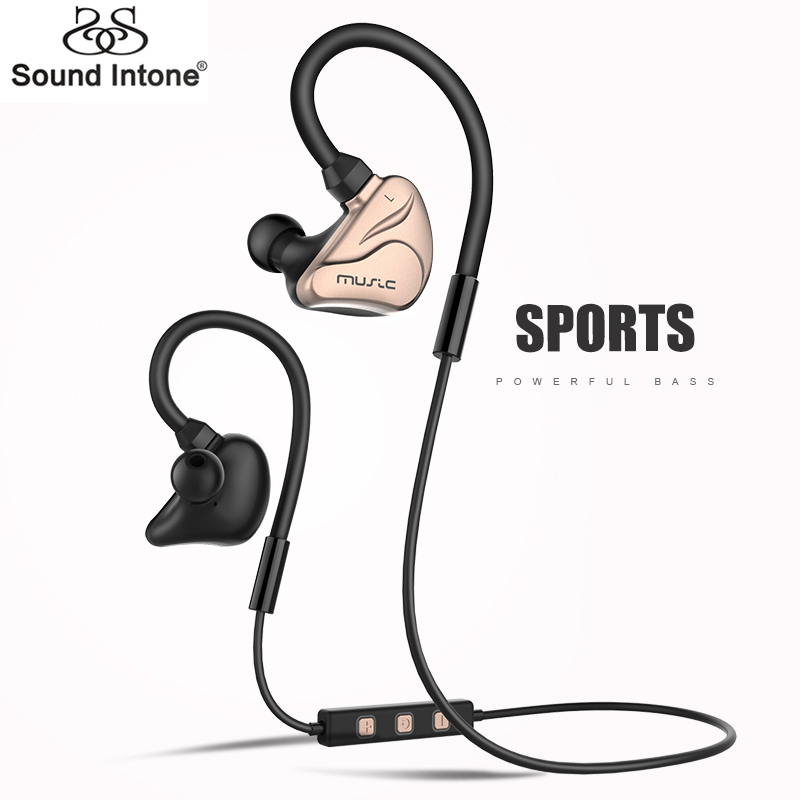 Sound Intone H3 Bluetooth Earphones Wireless In Ear Earbuds Sports Running Earphone with Built-in Mic for All  Bluetooth Dvices<br><br>Aliexpress