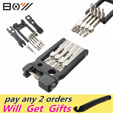 Hot !! Top Selling High Quality 19 in 1 Hex Key Screwdriver Wrench Bicycle Bike Tools Multi Repair Tool Kit Set