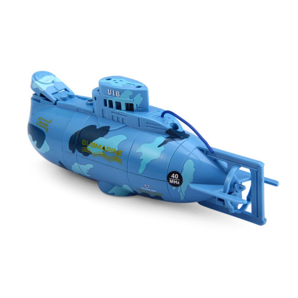 RC Submarine 6 Channels High Speed Radio Remote Control Electric Mini Radio Control Submarine Children Toy Boys Model Toys Gifts 4