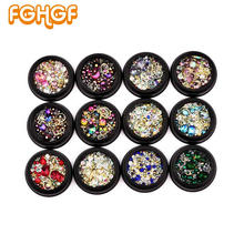 Buy Mixture Style Tiny Beads Stuff Crystal Decorations DIY Craft Flat Diamonds Colorful Nail Art Metal Rivet Resin Jewelry Fillers for $2.71 in AliExpress store