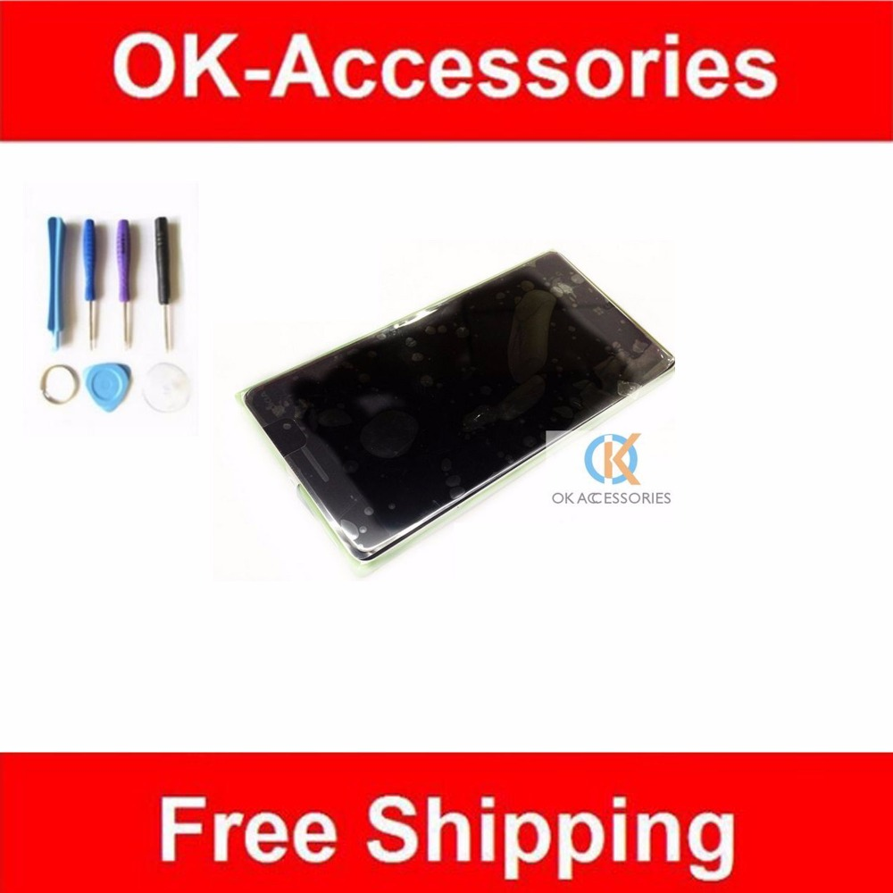 For Nokia Lumia 830 N830 LCD Display+Touch Screen Digitizer+Frame Black Color 1PC /Lot Replacement With Free Tools<br>