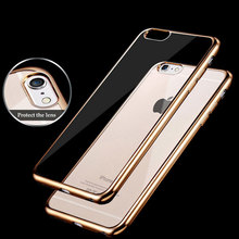 For iPhone 5S SE 6 Case Slim Case Scratch Resistant Silicon Back Panel for Apple iPhone cases 6 Plus phone case(China)
