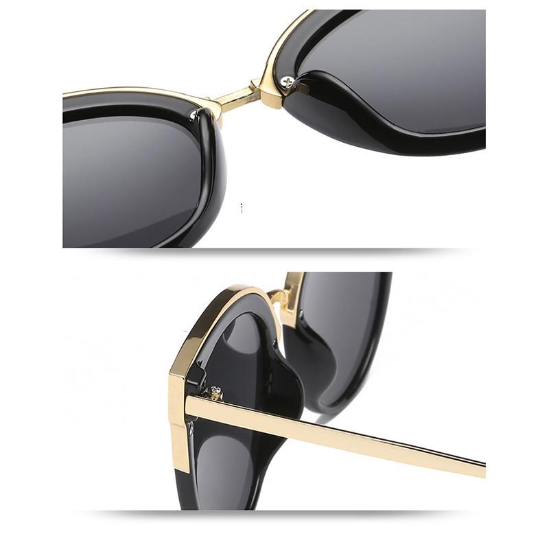 Fashion Sunglasses Women Men Luxury Brand Designer 2018 Retro Cateye Sun Glasses Shades Lady Eyewear Oculos Goggles 0932WD