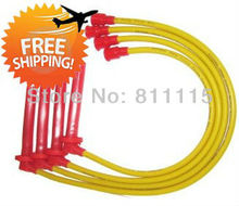 Spark Plug high-voltage ignition wire set for Fiat Palio 1.3, ignition cable, Sub-cylinder line, free shipping!!