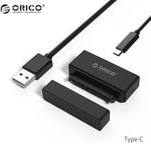 ORICO 2.5 inch Hard Drive Adapter USB3.0 to Type C/Micro B SATA SSD Mini SATA Adapter Cable Converter with OTG Function