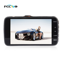 "FCCWO A4 Car DVR registrator NT96655 4""IPS LCD AR0330 Dual lens rearview Dash Camera Cam Video Recorder Camcorder DVRS"