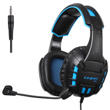 G10 Pro Gamer Headphones Deep Bass Stereo Gaming Headset with Mic Microphone for iPad  Laptop PS4 PC XBOX 360 Cell Phone