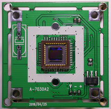 "1/4"" CMOS Pixelplus PC7030 image sensor CCTV camera module board 80mA power consumption(China)"