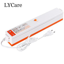 LYCare Household Vacuum Food Sealer Packaging Machine Film Sealer Food Vacuum Packer(China)
