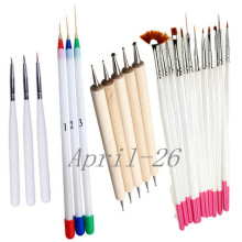 4set Professional 23pcs Painting Nail Brush Set Design Painting Nail Liner Brushes Art and Dotting Nail Pen