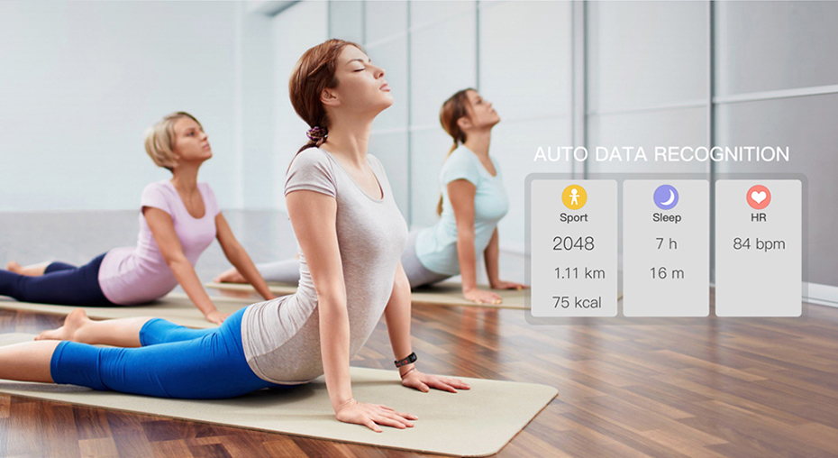 COLMI Smart band DM11 3D Dynamic UI Fitness tracker Bracelet Heart rate Monitor Wristband IP68 Waterproof 11
