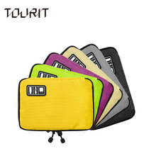 TOURIT New Travel Bag Data Cable Practical Earphone Wire Bag Power Line USB Flash Disk Case Digital Accessories Finishing Bag