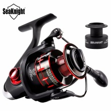 SeaKnight New Spinning Fishing Reel NAGA 2000/3000/4000/5000 11BB 7.5KG 5.2:1 4.7:1 CNC Aluminum Spool Carbon Fiber Spare Spool