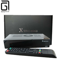 X Solo Mini 3 Satellite Receiver Linux OS Solo3 1200MHz Dual Linux OS Tuner DVB-S2 DVB-T2 / C Full HD Better than X Solo Mini 2(China)