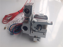 Reprap Prusa i3 MK10 extrusion upgrade kit aluminum alloy extruder and metal x extrusion carriage Blurolls(China)
