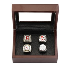 Free shipping 4PCS Alabama football team championship ring collection for Men's Fashion Jewelry(China)