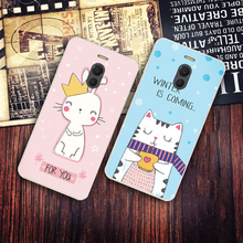 m6 note case cover personality design animation silicone anti fall mobile phone shell protective sleeve For Meizu M6 Note case .