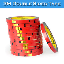 5 Rolls Per Lot Removable Super Strong Grey Glue 3M Double Sided Tape Stickers(China)