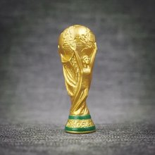 High quality (Well-made) Mini World Cup trophy figurine 7cm & 4cm sports memorabilia Resin dolls accessories
