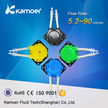 Kamoer New KP Peristaltic Pump 3V/6V/12V/24V DC Water Pump Pharmed BPT Tubing Free Shipping(China)
