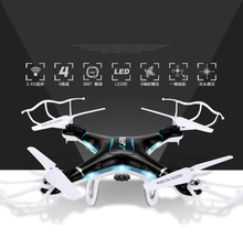 JJRC H5P RC Quadcopter 4 CH 6 Axis Gyro 2.4GHz RC Drone with 2.0MP HD Cam CF Mode 3D Eversion LED Light