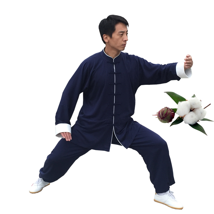 2017 New Unisex Chinese Traditional Taichi Suits Cotton Linen Martial Arts Clothing Morning Exercise Uniforms<br><br>Aliexpress