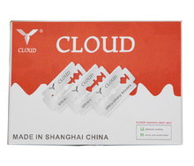 100pieces/ lot ,Wholesale Cloud Cut Special Razor Blades/ Sharp blade for hair razor with removable blades(China)