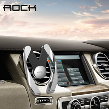 ROCK Autobot M Mobile Car Phone Holder Air Vent Mount Mobile Phone Stand Holder for iPhone Samsung Xiaomi HTC GPS