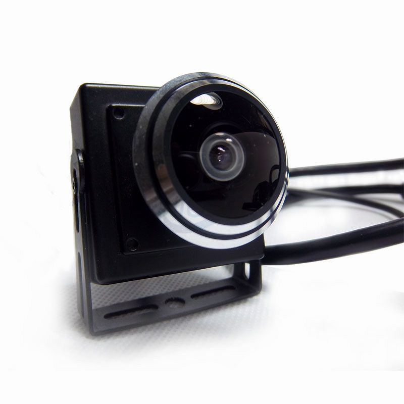 fisheye mini ip audio camera 2
